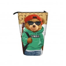 TDX286 Pop Up Pencil Case Stand Up Pen Holder Cute Telescopic Pencil Pouch,Very suitable for students Telescopic Pencil Case,Pencil Telescopic.